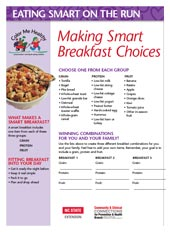 Making Smart Breakfast Choices